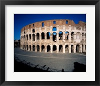 Framed Colosseum Rome Italy
