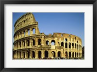 Framed Low angle view of a coliseum, Colosseum, Rome, Italy Landscape