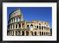 Framed Colosseum, Rome, Italy