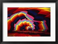 Framed Close-up of a hot air balloon