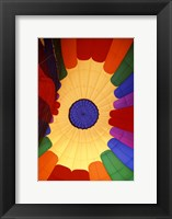 Framed Close-up of a hot air balloon, Steamboat Springs, Routt county, Colorado, USA