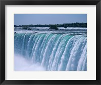 Framed Close-up of a waterfall, Niagara Falls, Ontario, Canada
