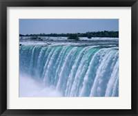 Framed Close-up of a waterfall, Niagara Falls, Ontario, Canada