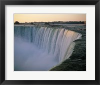 Framed High angle view of a waterfall, Niagara Falls, Ontario, Canada