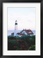Framed Portland Head Lighthouse Cape And Field Elizabeth Maine USA