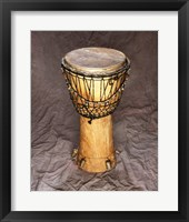 Framed Djembe Drum West Africa