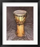 Framed Djembe Drum West Africa