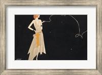 Framed Woman Smoking