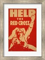 Framed Help the Red Cross