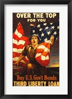 Framed Over the Top US Government Bonds