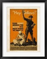 Framed American Library Association