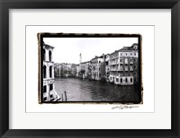 Waterways of Venic XII Framed Print