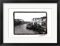 Waterways of Venice XIII Framed Print