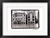 Waterways of Venice XVI Framed Print