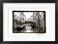 Framed Waterways of Venice XVII
