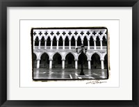 Archways of Venice II Framed Print