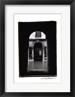 Archways of Venice IV Framed Print