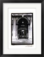 Archways of Venice VI Framed Print