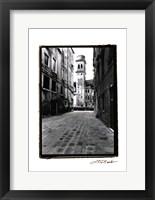 Framed Venetian Stroll VI