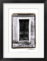 Framed Doors of Venice II