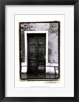 Framed Doors of Venice III