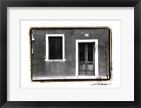 Framed Doors of Venice VIII