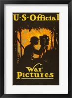 Framed U.S. Official War Pictures
