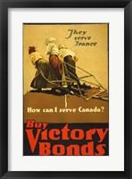 Framed Buy Victory Bonds