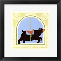 Bear Carousel Framed Print