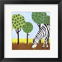 Framed Jungle Fun IV