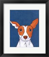 Pet Portraits II Framed Print