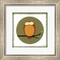 Framed Owl Cameo I