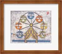 Framed Carnival Ferris Wheel