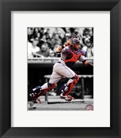 Framed Carlos Santana 2011 Spotlight Action