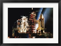 Framed Space Shuttle Columbia