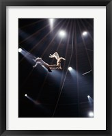 Framed Flying Redpaths Royal Hanneford Circus act