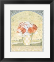 Framed Potted Flower Series I