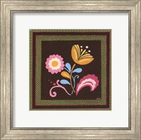 Framed Patchwork Garden I