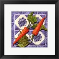 Framed Carrot Tile