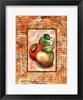 Framed Apple Tart