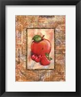 Framed Mixed Fruit I