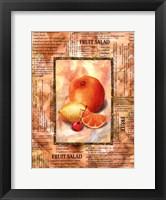 Framed Mixed Fruit II