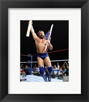 "Framed ""Hacksaw"" Jim Duggan Action"