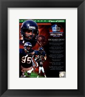 Framed Richard Dent 2011 Hall of Fame Composite