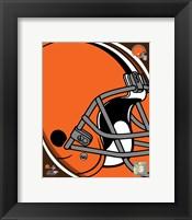 Framed Cleveland Browns 2011 Logo