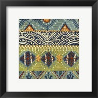 Eastern Textile II Framed Print