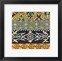 Eastern Textiles IV Framed Print