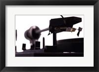 Turntable I Framed Print