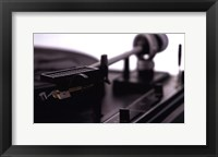 Turntable II Framed Print