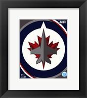 Framed Winnipeg Jets 2011 Team Logo